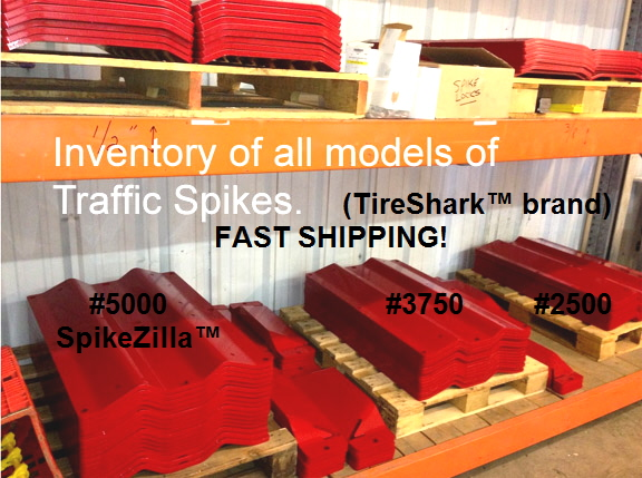 Traffic Spikes IN STOCK and ready to ship.